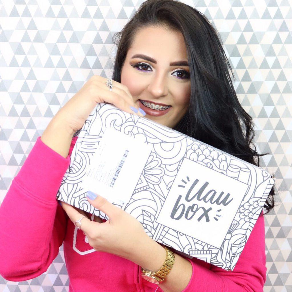 Skincare na UAUBox da Leticia Rodrigues