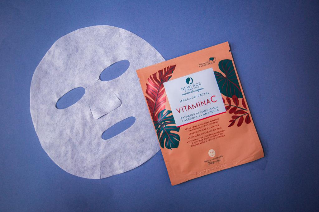 Máscara de Vitamina da C New Face