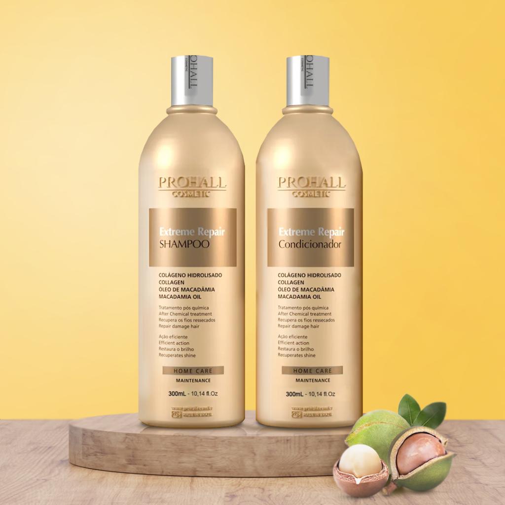 Shampoo e Condicionador Prohall