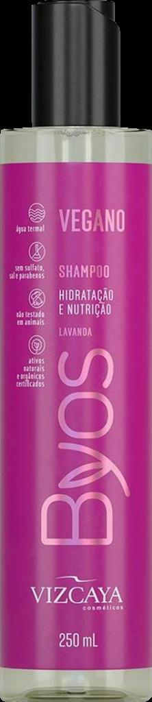 Shampoo Byos Hidratação e Nutrição Vizcaya