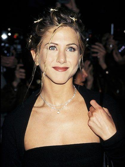 Maquiagem típica da década de 90