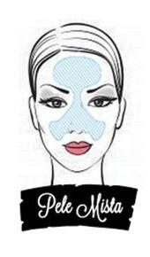 Ilustração mulher de pele mista