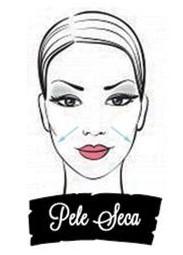 Ilustração mulher com pele seca